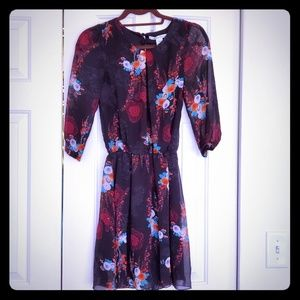 3 for $20 American Rag size XS black floral dress